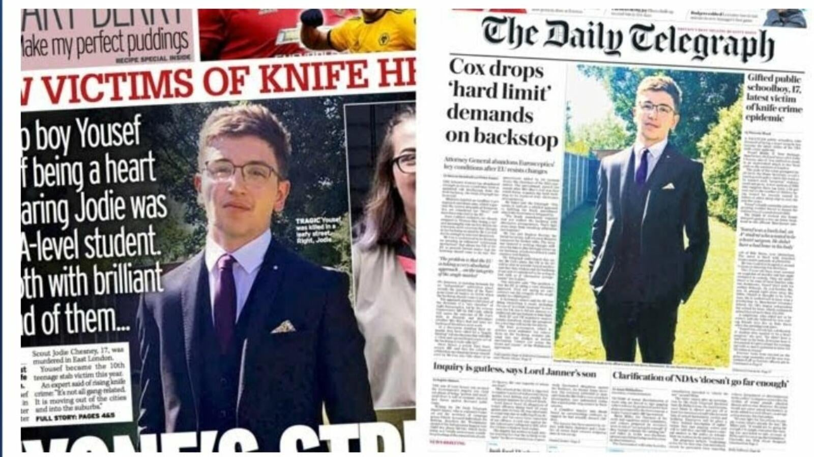 Knife Crime Reaches Suburbia: The Tragic Story of Yousef Makki