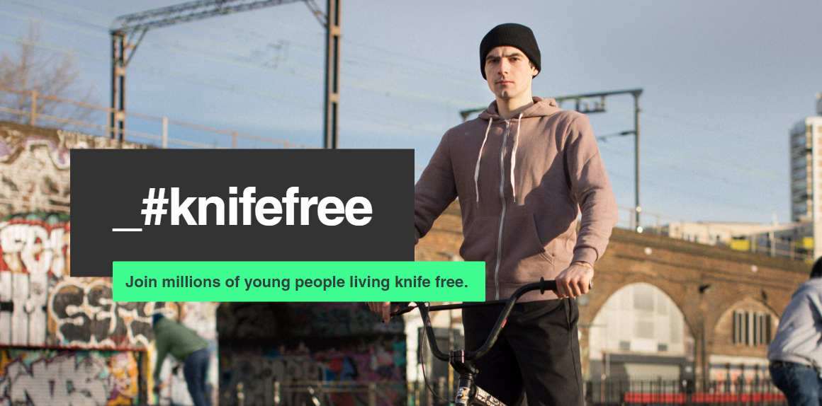 Knife Crime, The Home Office's _#knifefree Campaign and Fried Chicken Boxes