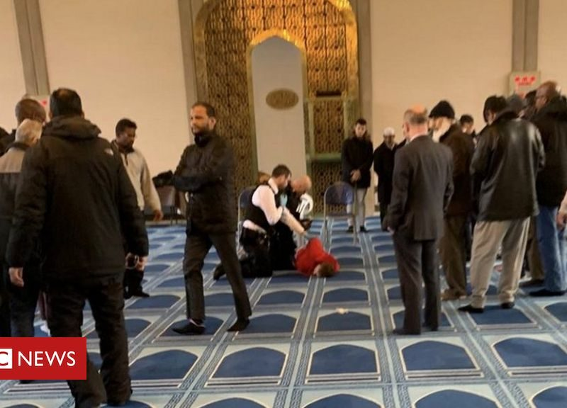 London Mosque Stabbing February 2020